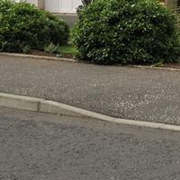 Dropped pavement