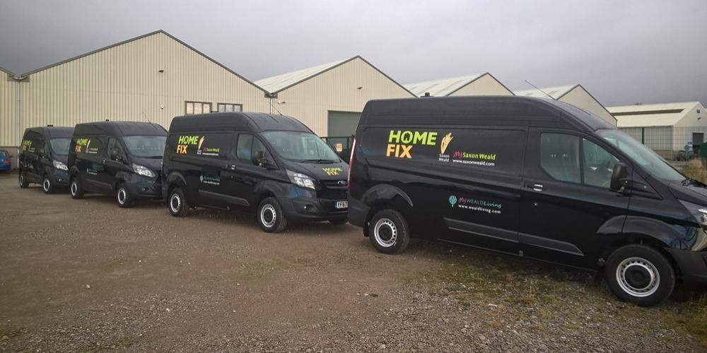 New look for HomeFix vans
