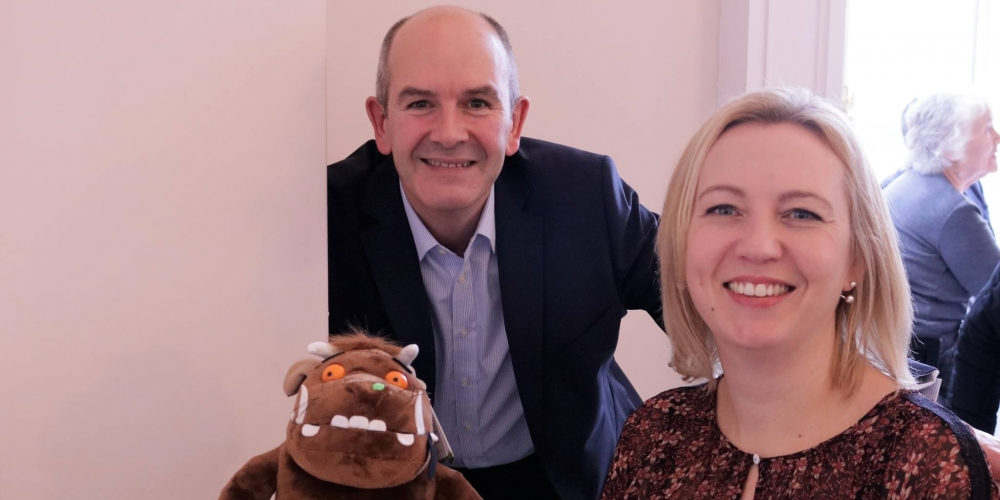 Saxon Weald sponsors a Global Gruffalo