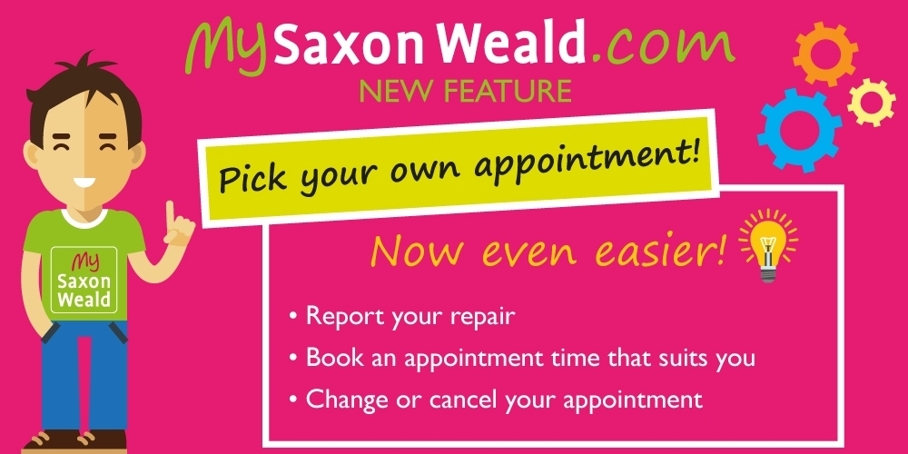 You can now book your repair appointments online